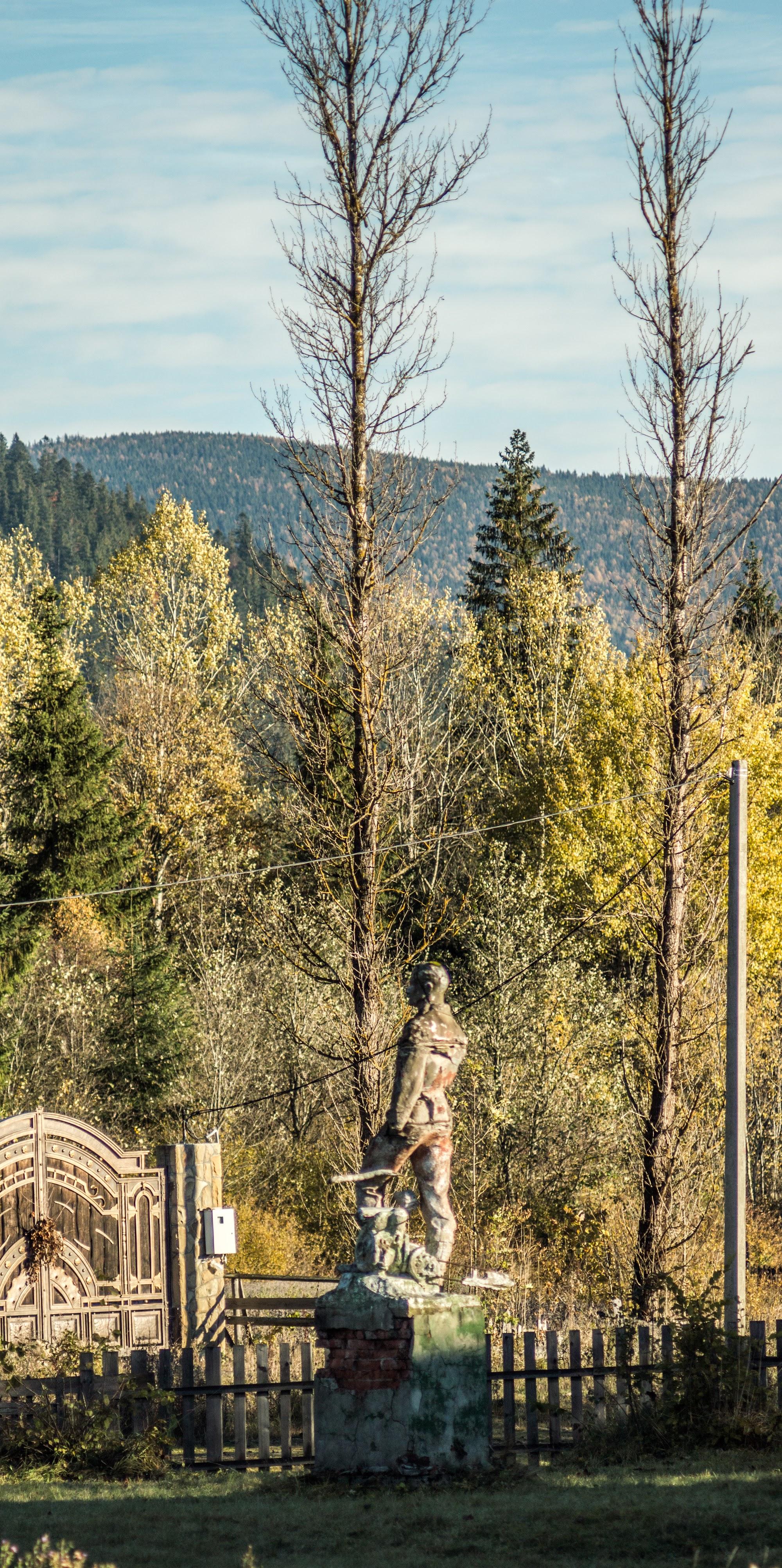 Пам'ятник лісорубу