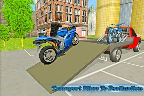 Bike Transport Truck Driver- screenshot thumbnail