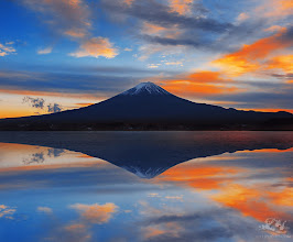 Photo: 富士山の四季(日本語↓) Fuji for all seasons より良い明日 A better Tomorrow  The real man smiles in trouble, gathers strength from distress, and grows brave by reflection. ~Thomas Paine  Recently, a friend told me he feels very stressful with his job and could not see any career progress, a different friend told me his team mates at work feel discouraged because they worry they cannot complete the project on target, another friend is having a lot of problems with his marriage, a friend is so unhappy and want to quit his work, another friend is looking for work, my girl friend is not happy because of the guy she loved...we all seem to have so much difficulties, how could we become happier? Would all our problems be solved if we find a better job, finish our projects on time, find a perfect lover? or perhaps we would then encounter other unexpected problems.  I think for me, happiness is a stage of mind, it is your attitude in life, how you see the world and the problems you encountered would make all the differences in life. If you could see all the troubles you encountered as a challenge, an opportunity to make yourself stronger and wiser, you are already ahead of the game. There are always things and situations in life we could not change, setbacks we must face, opportunities lost, affection not returned...the only thing we could change is ourselves, and the way we deal with the situation.  As I have mentioned to some before, I was born with a rare disease, should I sit back and feel sorry for myself? or should I gather strength and make the best of the situation? the choice is mine to make and my attitude will paint an entirely different picture for my life. And I will tell my friends who are faced with different types of challenges, rather than feeling stressful, face your troubles with a smile, think of it as an opportunity for you to find better things in life, and perhaps, one day you can achieve more than you ever dream of!  The world is indeed a beautiful place!  Othe