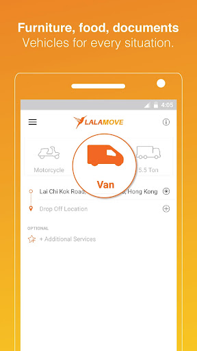 Lalamove: Fast & Reliable Delivery App 4.811.46456 screenshots 2