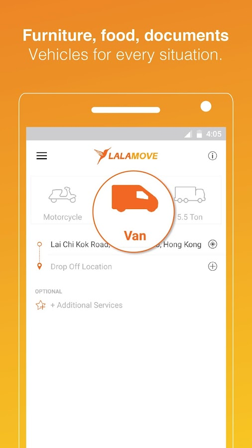 Lalamove: Fast & Reliable Delivery App- screenshot