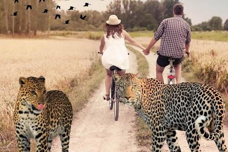 Wild Animal Photo Frame - náhled