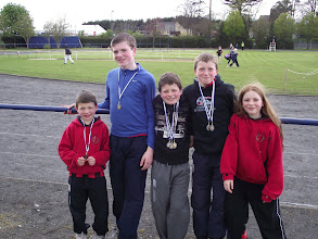 Photo: The Ryan Family, Moycarkey Coolcroo A.C. who took part in the St. Lawerence O'Toole Sports 2012.