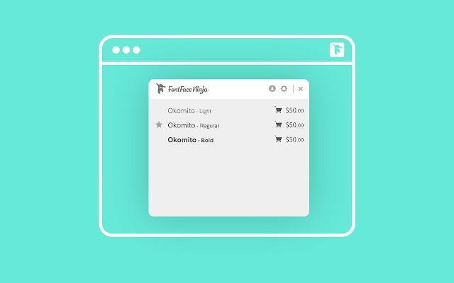 Fontface Ninja - Интернет-магазин Chrome