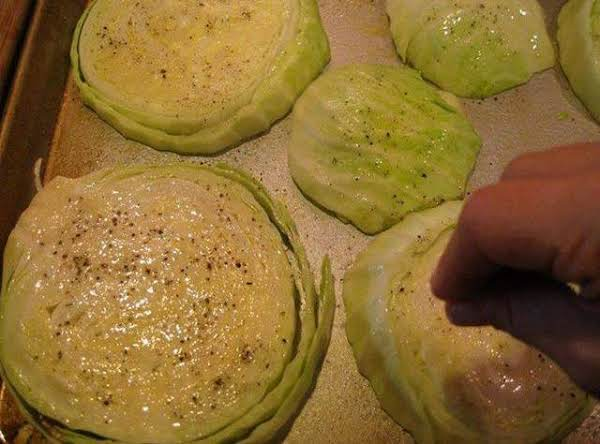 Baked Cabbage Rounds