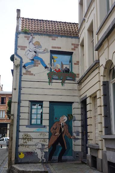 Comic Trail in Brussels, Belgium (2014)