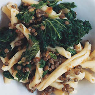 Pasta with Lentils and Kale.
