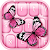 Pink Butterfly Keyboard file APK for Gaming PC/PS3/PS4 Smart TV