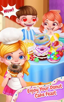 Sweet Donut Cake Maker apk screenshot