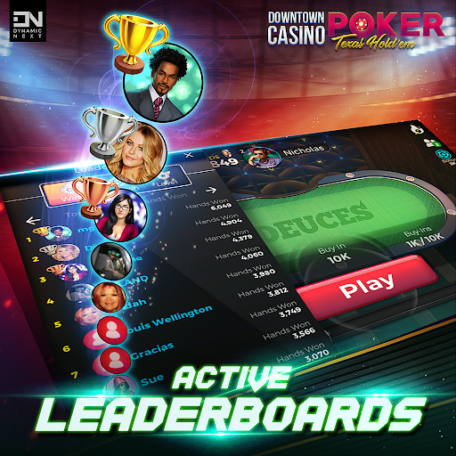 Free Poker Games : Downtown Casino - Texas Holdem  screenshots 5