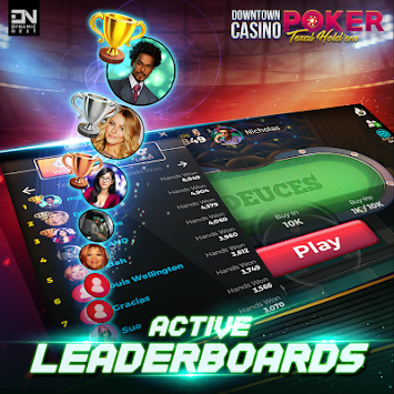 DTC Poker: Texas Holdem (Free Online Poker Game) apk screenshot