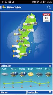 Sweden Weather - náhled