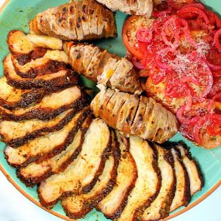 Cajun Mustard Pork Loin - Slow Roasted