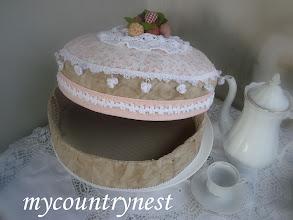 Photo: torta aperta, dettaglio