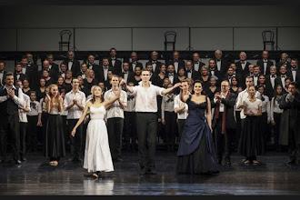 Photo: BRATISLAVA: LA DAMNATION DE FAUST (Berlioz), 27.10.2016. Anna Ryan beim Schlussapplaus
