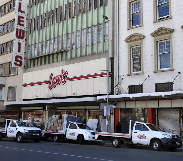 Lewis Stores. Picture: FREDDY MAVUNDA/FINANCIAL MAIL
