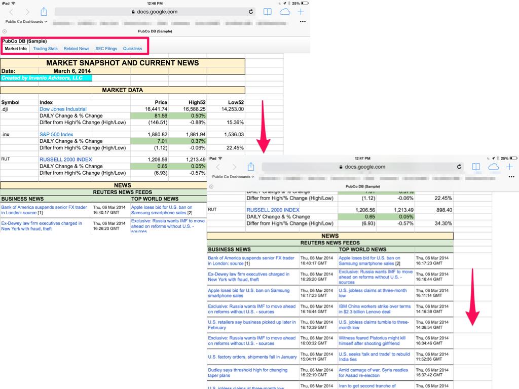 Create A Dynamic Dashboard Using Google Docs