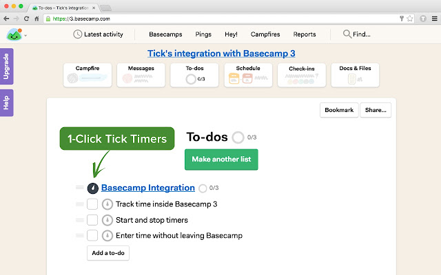 Tick Time Tracking