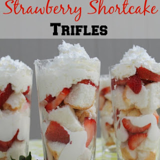 Individual Strawberry Shortcake Trifles