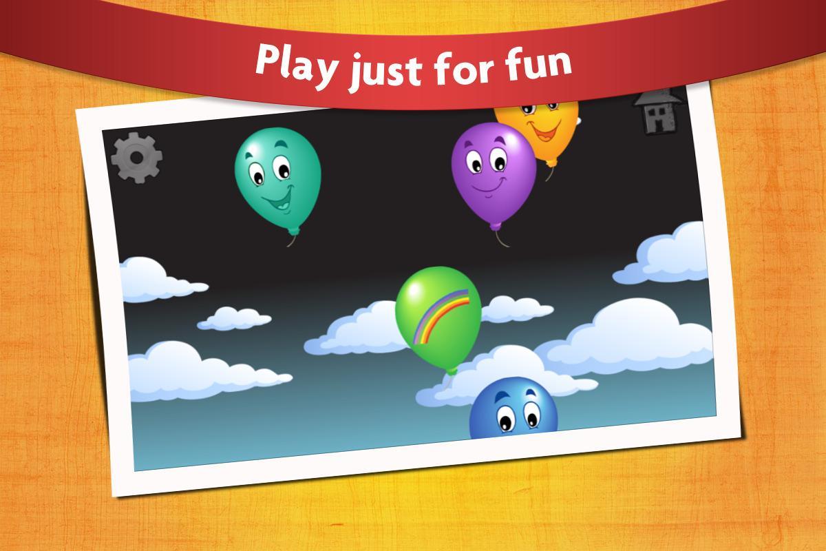Kids Balloon Pop Game Free- screenshot