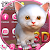 3D White Kitty Animation Theme With Live Wallpaper file APK for Gaming PC/PS3/PS4 Smart TV
