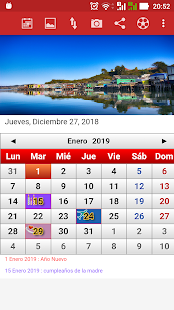 Calendario Chile 2019.Chile Calendario 2019 For Pc Windows Mac Techwikies Com