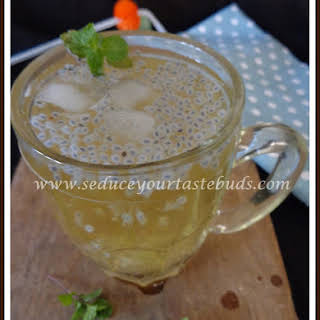 Thai Basil Seed Drink.