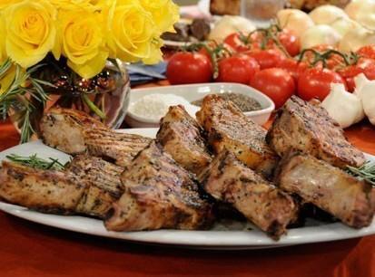 Jacques Pepin's Grilled Pork Chops Recipe