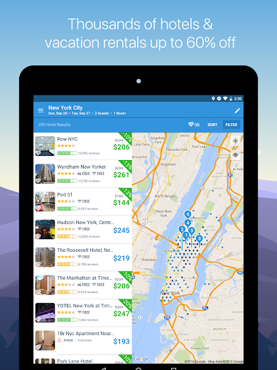 Screenshot 10 for Hipmunk's Android app'