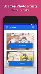 Photofly - Free Photo Prints- screenshot thumbnail