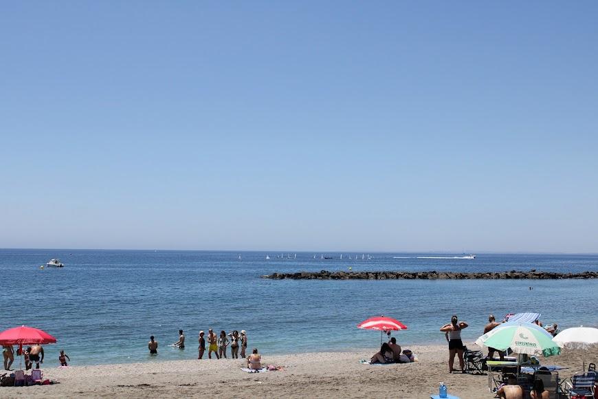 Playa del Palmeral.