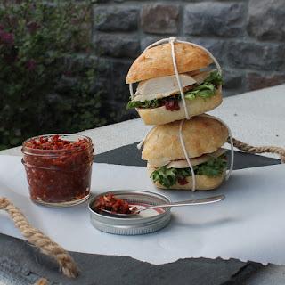 Sun Dried Tomato Pesto Chicken Sandwiches.