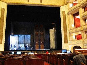 "Photo: WIENER STAATSOPER (22.3.2015). Erster Blick auf das Bühnenbild ""Elektra"". Foto Andrea Matzker"