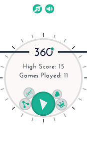 Spin 360 - Game - náhled