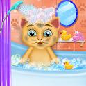 Cute Kitten Daycare & Beauty Salon - Fluffy Kitty icon