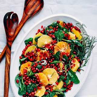 Orange Pomegranate Salad with Buttermilk Dressing