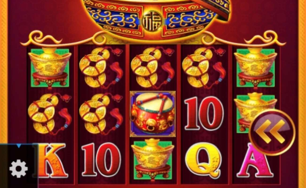 Dancing Drums online slot casino game icons