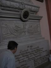 Photo: Tutaj został pochowany płk. Ludwik Szczaniecki, adiutant gen. Jana Henryka Dąbrowskiego, uczestnik kampanii napoleońskich.