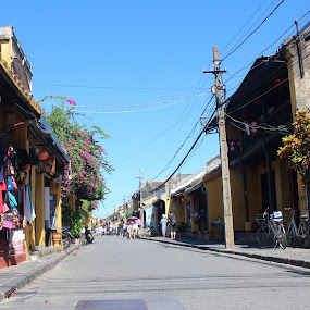 Hoi An encient town by Henry Nguyen - City,  Street & Park  Street Scenes