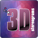 3D stereograms icon