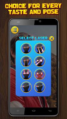 Photo Effects Laser From Eye - screenshot