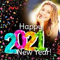Happy New Year Photo Frame 2021 photo editor icon