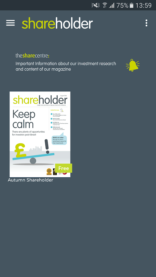 Shareholder- screenshot