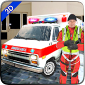Ambulance Rescue Driver Simulator 2017- Emergency