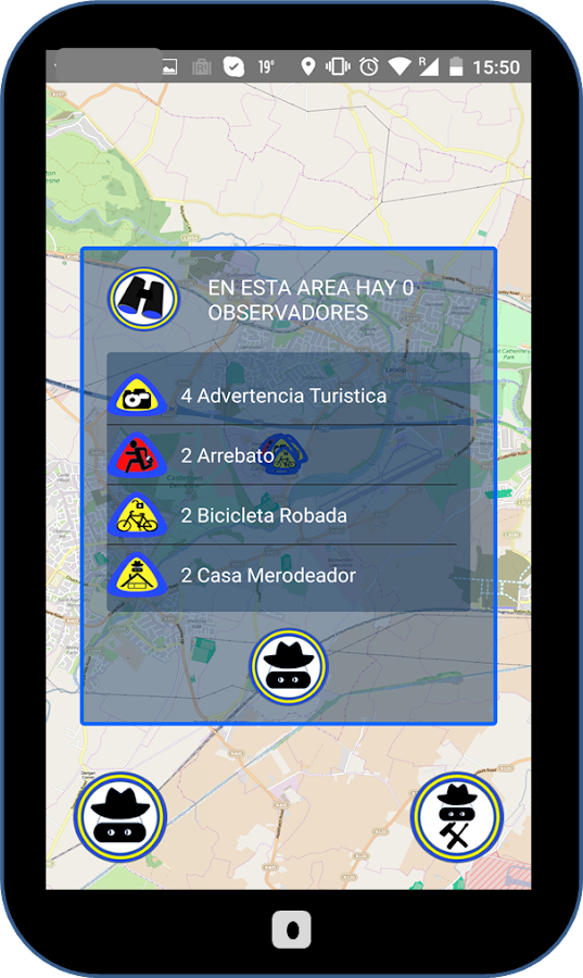 Grigori Neighborhood Watch App- screenshot