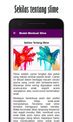 Mudah Membuat Slime - screenshot