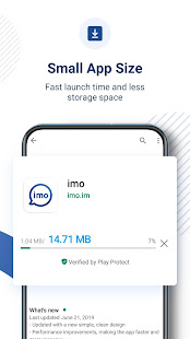 App imo free video calls and chat APK for Windows Phone