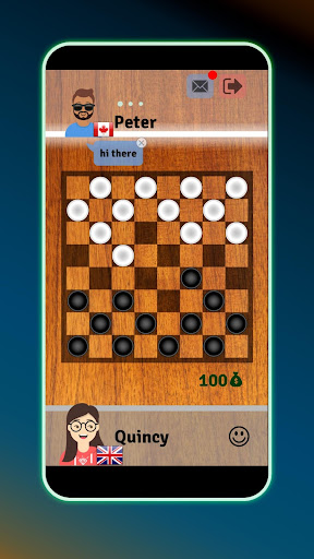 Checkers - Free Online Boardgame apkpoly screenshots 1
