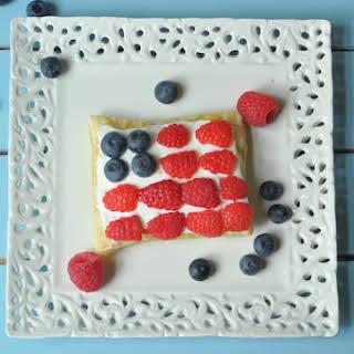 Patriotic Puff pastries.