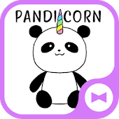 Cute Wallpaper Pandicorn Theme